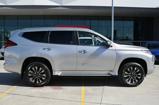 2019 Mitsubishi Pajero Sport QF MY20 Exceed Sterling Silver 8 Speed Sports Automatic Wagon.
