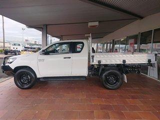 2018 Toyota Hilux GUN126R MY17 SR (4x4) Glacier White 6 Speed Manual X Cab Cab Chassis