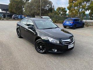2010 Holden Cruze JG CDX Black 6 Speed Sports Automatic Sedan.