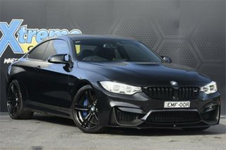 2014 BMW M4 F82 M-DCT Black 7 Speed Sports Automatic Dual Clutch Coupe.