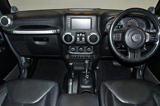 2013 Jeep Wrangler JK MY2013 Unlimited Overland Billet Silver 5 Speed Automatic Hardtop