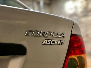 2004 Toyota Corolla ZZE122R Ascent Silver 4 Speed Automatic Sedan