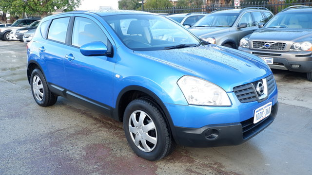 Used Nissan Dualis J10 ST X-tronic AWD St James, 2008 Nissan Dualis J10 ST X-tronic AWD Blue 6 Speed Constant Variable Hatchback