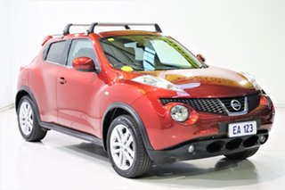 2014 Nissan Juke F15 TI-S (AWD) Red Continuous Variable Wagon