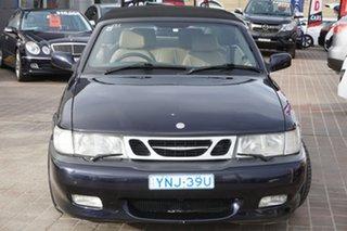 2002 Saab 9-3 MY2003 Turbo Blue 5 Speed Manual Convertible.