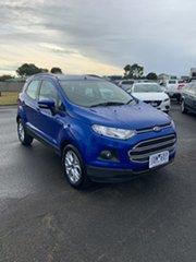 2014 Ford Ecosport BK Trend PwrShift Blue 6 Speed Sports Automatic Dual Clutch Wagon.