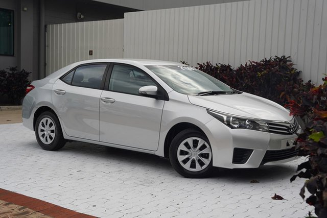 Used Toyota Corolla ZRE172R Ascent S-CVT Cairns, 2015 Toyota Corolla ZRE172R Ascent S-CVT Silver 7 Speed Constant Variable Sedan