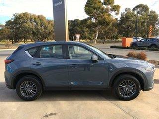 2021 Mazda CX-5 KF4WLA Touring SKYACTIV-Drive i-ACTIV AWD Polymetal Grey 6 Speed Sports Automatic.