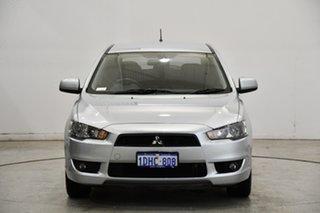 2009 Mitsubishi Lancer CJ MY09 VR Sportback Cool Silver 6 Speed Constant Variable Hatchback.