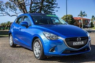 2014 Mazda 2 DJ2HA6 Neo SKYACTIV-MT Blue 6 Speed Manual Hatchback.