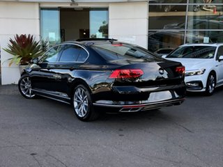 2021 Volkswagen Passat 3C (B8) MY21 162TSI DSG Elegance Deep Black Pearl Effect 6 Speed.