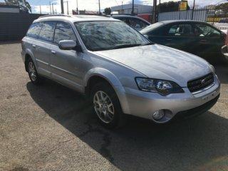 2004 Subaru Outback B4A MY04 D/Range AWD Silver 5 Speed Manual Wagon.