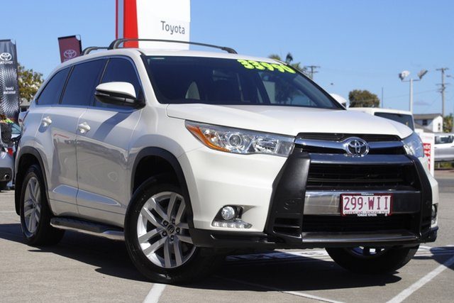 Pre-Owned Toyota Kluger GSU50R GX 2WD Albion, 2016 Toyota Kluger GSU50R GX 2WD Crystal Pearl 6 Speed Sports Automatic Wagon