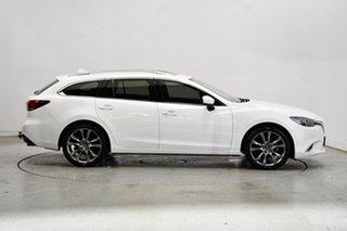 2018 Mazda 6 GL1031 Atenza SKYACTIV-Drive White 6 Speed Sports Automatic Wagon