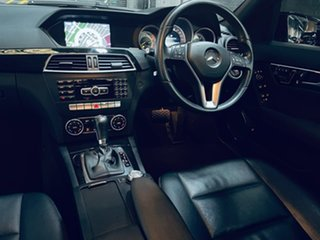 2014 Mercedes-Benz C-Class W204 MY14 C250 7G-Tronic + Avantgarde Black 7 Speed Sports Automatic.