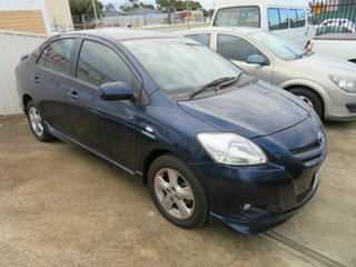 2007 Toyota Yaris NCP93R YRX Blue 5 Speed Manual Sedan.