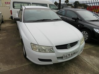 2005 Holden Commodore VZ White 4 Speed Automatic Utility.