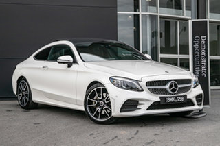 2021 Mercedes-Benz C-Class C205 801MY C300 9G-Tronic Diamond White 9 Speed Sports Automatic Coupe.