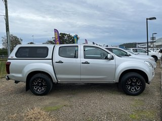 2014 Isuzu D-MAX MY15 SX 4x2 High Ride Silver 5 Speed Sports Automatic Cab Chassis.