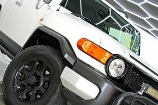 2013 Toyota FJ Cruiser GSJ15R MY13 Update White 5 Speed Automatic Wagon.