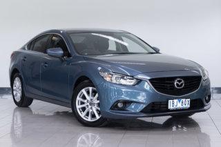 2013 Mazda 6 GJ1021 Touring SKYACTIV-Drive Blue 6 Speed Sports Automatic Sedan.