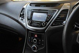 2015 Hyundai Elantra MD3 Active Red 6 Speed Sports Automatic Sedan