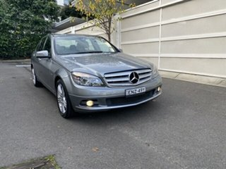 2009 Mercedes-Benz C-Class W204 C220 CDI Avantgarde Special Edition Grey 5 Speed Sports Automatic.
