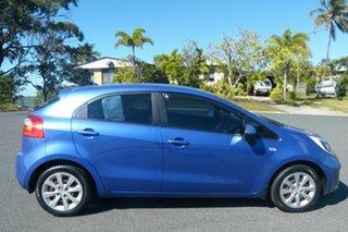 2011 Kia Rio UB MY12 S Blue 4 Speed Sports Automatic Hatchback.