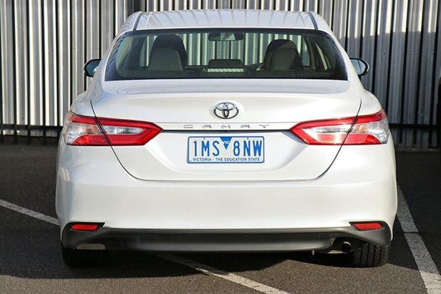 Pre-Owned Toyota Camry ASV70R Ascent Preston, 2018 Toyota Camry ASV70R Ascent White 6 Speed Sports Automatic Sedan