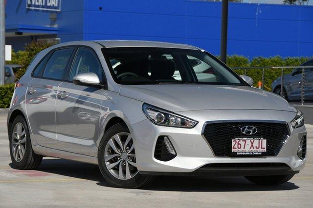 Used Hyundai i30 PD MY18 Active Aspley, 2017 Hyundai i30 PD MY18 Active Silver 6 Speed Sports Automatic Hatchback