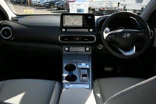 2021 Hyundai Kona OSEV.2 MY20 Highlander Electric SRF Atlas White 1 Speed Automatic Wagon