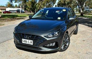 2020 Hyundai i30 PD.V4 MY21 Active Grey 6 Speed Sports Automatic Hatchback.