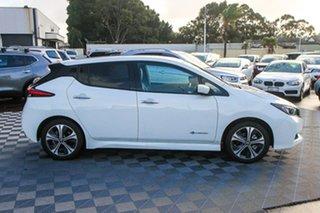 2020 Nissan Leaf ZE1 White 1 Speed Reduction Gear Hatchback.