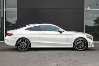2021 Mercedes-Benz C-Class C205 801MY C300 9G-Tronic Diamond White 9 Speed Sports Automatic Coupe