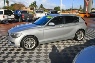 2014 BMW 1 Series F20 MY0713 118i Steptronic Silver 8 Speed Sports Automatic Hatchback.
