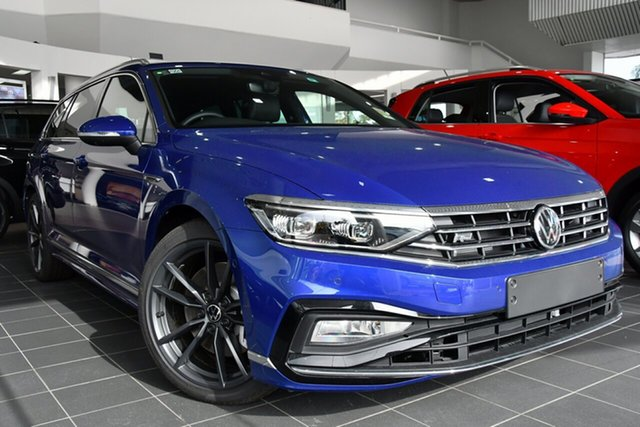 New Volkswagen Passat 3C (B8) MY21 206TSI DSG 4MOTION R-Line Indooroopilly, 2021 Volkswagen Passat 3C (B8) MY21 206TSI DSG 4MOTION R-Line Manganese Grey Metallic 6 Speed
