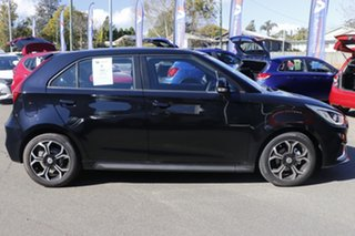 2021 MG MG3 SZP1 MY21 Excite Pebble Black 4 Speed Automatic Hatchback.