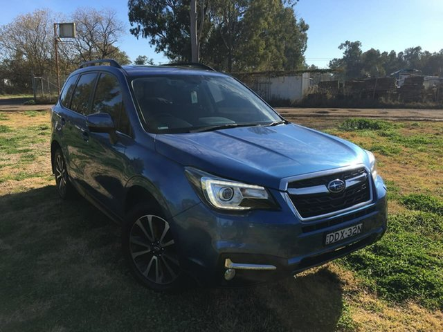 Used Subaru Forester S4 2.5I-S Dubbo, 2016 Subaru Forester S4 2.5I-S Blue Constant Variable
