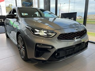 2021 Kia Cerato BD MY21 GT DCT Steel Grey 7 Speed Sports Automatic Dual Clutch Hatchback.