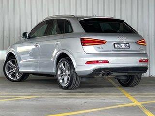 2012 Audi Q3 8U MY12 TFSI S Tronic Quattro Silver 7 Speed Sports Automatic Dual Clutch Wagon.
