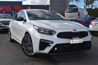 2019 Kia Cerato BD MY19 GT DCT White 7 Speed Sports Automatic Dual Clutch Hatchback.