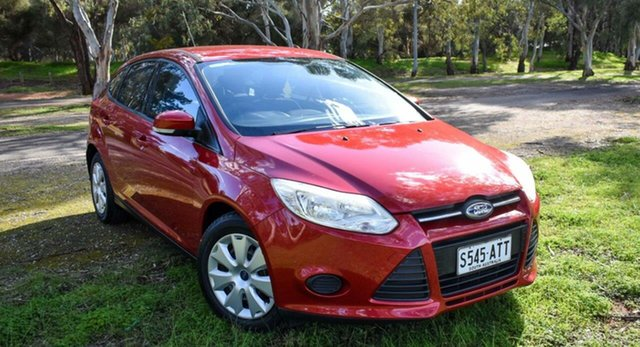 Used Ford Focus LW Ambiente Ingle Farm, 2012 Ford Focus LW Ambiente Red 5 Speed Manual Hatchback