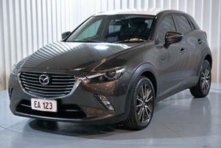 2015 Mazda CX-3 DK2W7A sTouring SKYACTIV-Drive Grey 6 Speed Sports Automatic Wagon.
