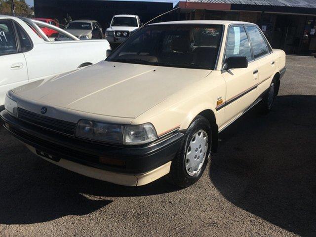 Used Holden Apollo JK Executive Blair Athol, 1990 Holden Apollo JK Executive Beige 4 Speed Automatic Sedan