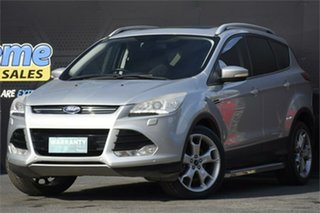 2014 Ford Kuga TF Titanium PwrShift AWD Silver 6 Speed Sports Automatic Dual Clutch Wagon.