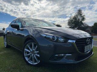 2016 Mazda 3 BN5238 SP25 SKYACTIV-Drive Grey 6 Speed Sports Automatic Sedan.