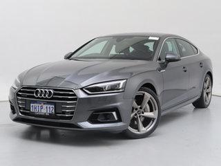 2017 Audi A5 F5 MY17 2.0 TFSI Quattro S Tronic Sprt Grey 7 Speed Auto Dual Clutch Hatchback.