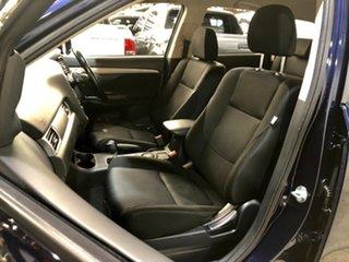 2013 Mitsubishi Outlander ZJ MY13 ES 2WD Blue 6 Speed Constant Variable Wagon