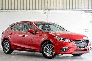 2015 Mazda 3 BM5478 Touring SKYACTIV-Drive Red 6 Speed Sports Automatic Hatchback.