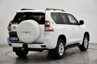 2014 Toyota Landcruiser Prado GRJ150R MY14 GXL White 5 Speed Sports Automatic Wagon